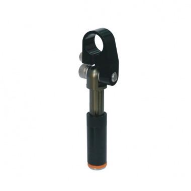 平滑主体带可调节急钳口的非可旋转悬件
